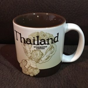 Thailand Starbucks Mini Mug Cap Size 3 Oz